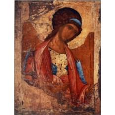 Копия иконы А. Рублева на доске Михаил Архангел