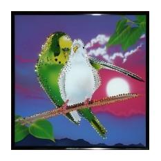Картина Swarovski Утренняя песня