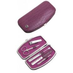 Маникюрный набор GD из 5 предметов (цвет — розовый)