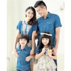 Джинсовые платья Семейный очаг