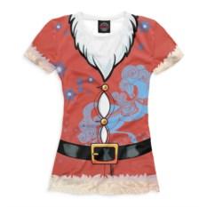 Женская футболка Новый год. Дед Мороз