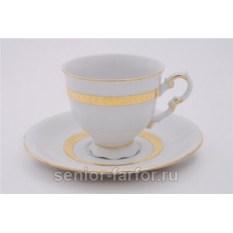 Набор чашек 0,15 л с блюдцем Leander Соната 31046
