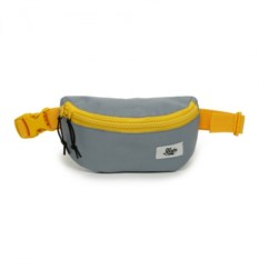 Поясная сумка Якорь. Малая барка (цвет — серый, желтый)