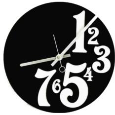Настенные часы Работа до семи