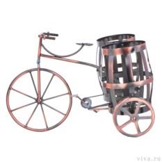 Держатель для бутылок «Французский велосипед»