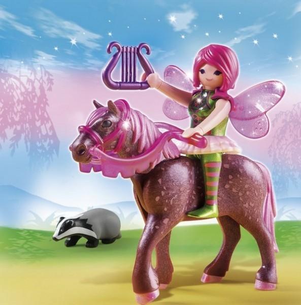 Конструктор Плеймобил «Лесная фея Суря с лошадью»