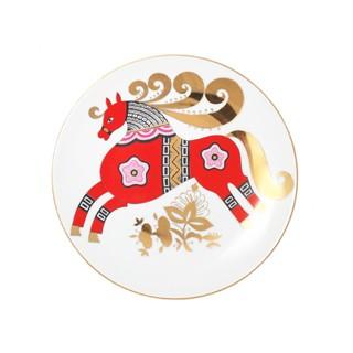 Тарелка декоративная Красный конь