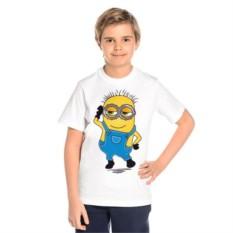 Детская футболка Миньон — мальчик