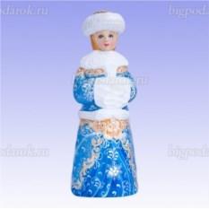 Деревянная игрушка Снегурочка