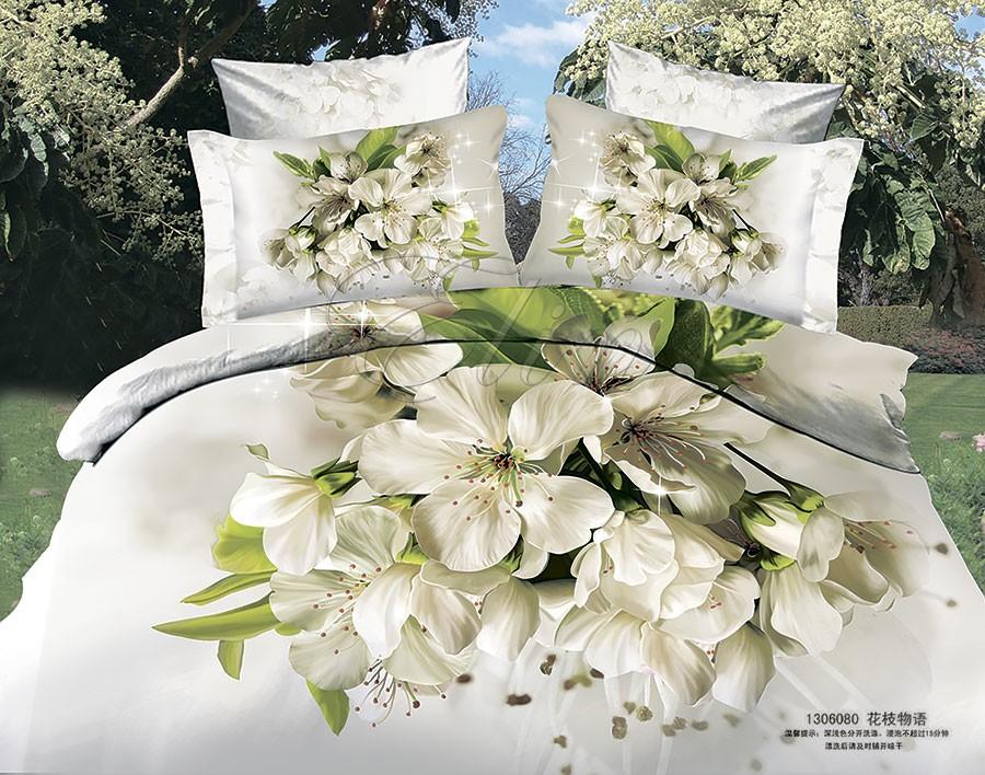 Сатиновое постельное белье Жасмин (Elin)