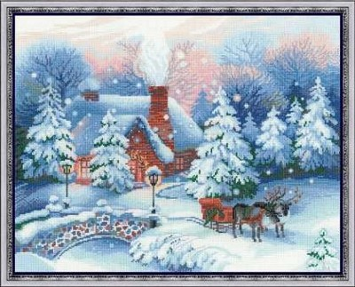 Набор для вышивания Накануне Рождества
