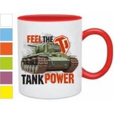 Кружка Tank power