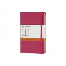 Розовая записная книжка в линейку Moleskine Classic