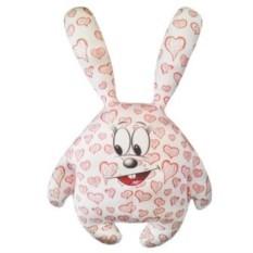 Мини подушка-игрушка Зайчик влюбленное сердце