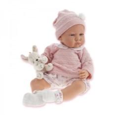 Озвученная кукла Бернардита в розовом