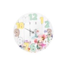 Настенные часы Изысканные цветы