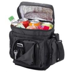 Черная сумка-холодильник на 5 литров Helsinki