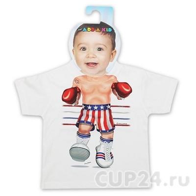 Детская футболка Боксер