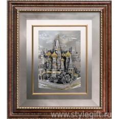 Картина Храм Василия Блаженного (37х42 см)