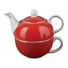 Красный подарочный чайный набор «Эгоист»