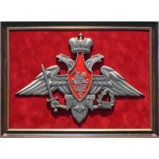 Панно с символикой Вооруженных сил России (38х52 см)