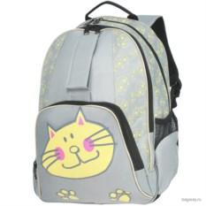 Светло-серый рюкзак Antan School