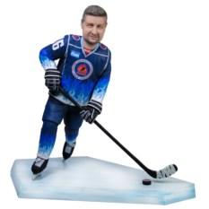Подарок хоккеисту Золотая клюшка, 40 см