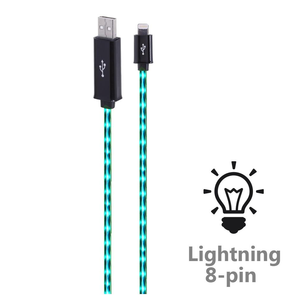 Светящийся кабель для зарядки «Join» (Lightning)