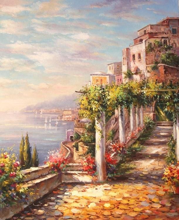 Картина Средиземноморский берег