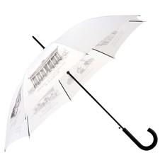 Белый зонт-трость Восьмое чудо света