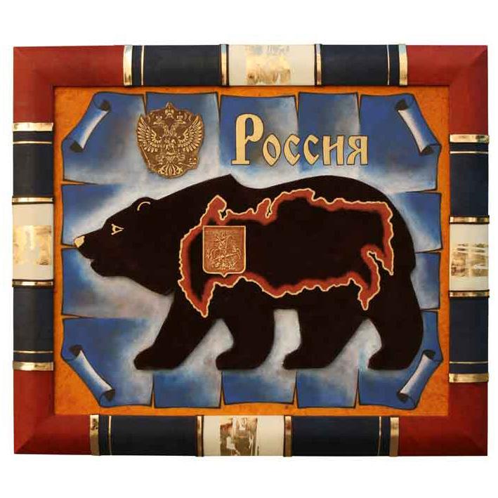 Панно декоративное «Россия»