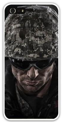 Чехол-накладка для iphone 5/5S, военный