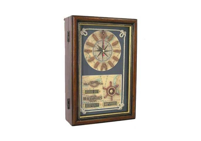 Часы-ключница «Морские узлы»