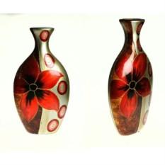 Керамическая ваза Огненный цветок