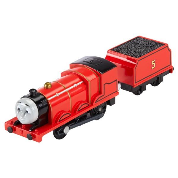 Машинка Mattel Thomas&Friends Паровозик Джеймс с вагоном