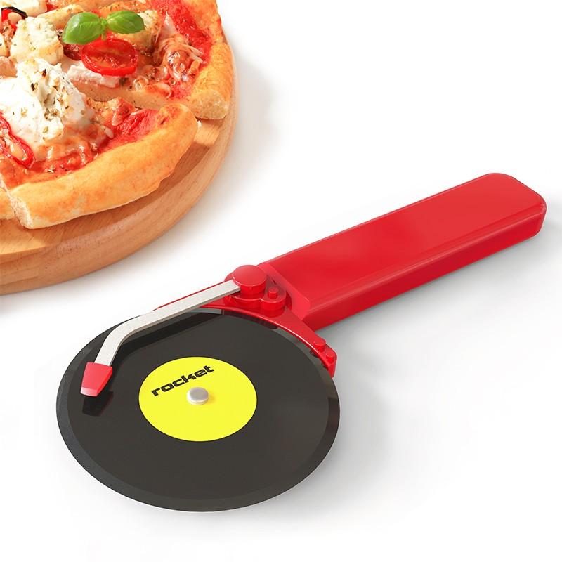 Нож для пиццы Top spin красный