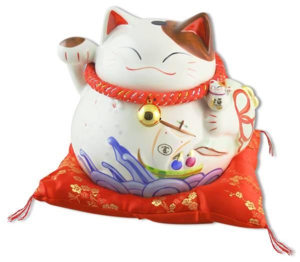 Японский кот-копилка Манеки-неко Отличных продаж!