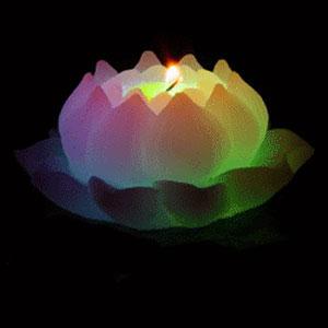 Волшебная свеча «Цветок Лотоса»