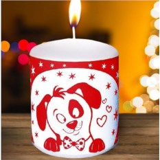 Новогодняя свеча «Давайте знакомиться»