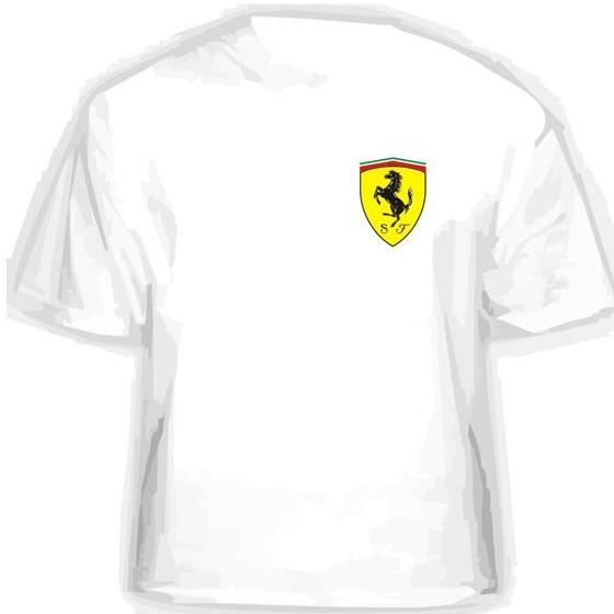 Прикольная футболка FERRARI