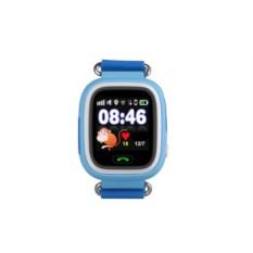 Голубые умные детские часы с GPS Q80 Smart Baby Watch