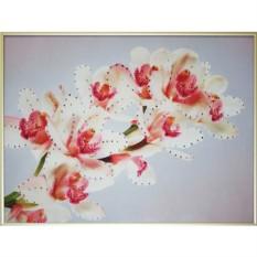 Картина с кристаллами Swarovski Орхидеи