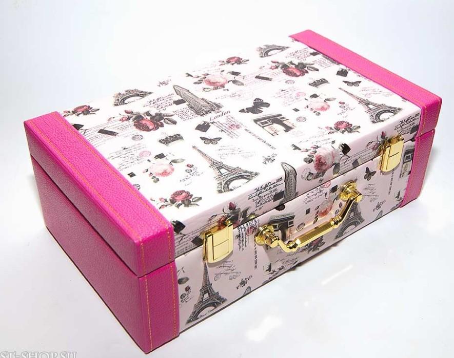 Розовая шкатулка Кейс