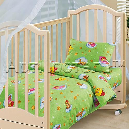 Комплект постельного белья Облачко (ясельный)