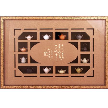 Картина «12 нефритовых чайников»