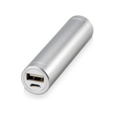 Серое портативное зарядное устройство Олдбери 2200 mAh