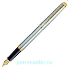 Перьевая ручка Waterman Hemisphere Essential Stainless Steel