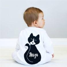 Именной слип Кошка