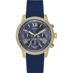 Женские наручные часы с кристаллами Swarovski Guess W0616L2