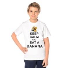 Детская футболка Keep calm and eat a banana
